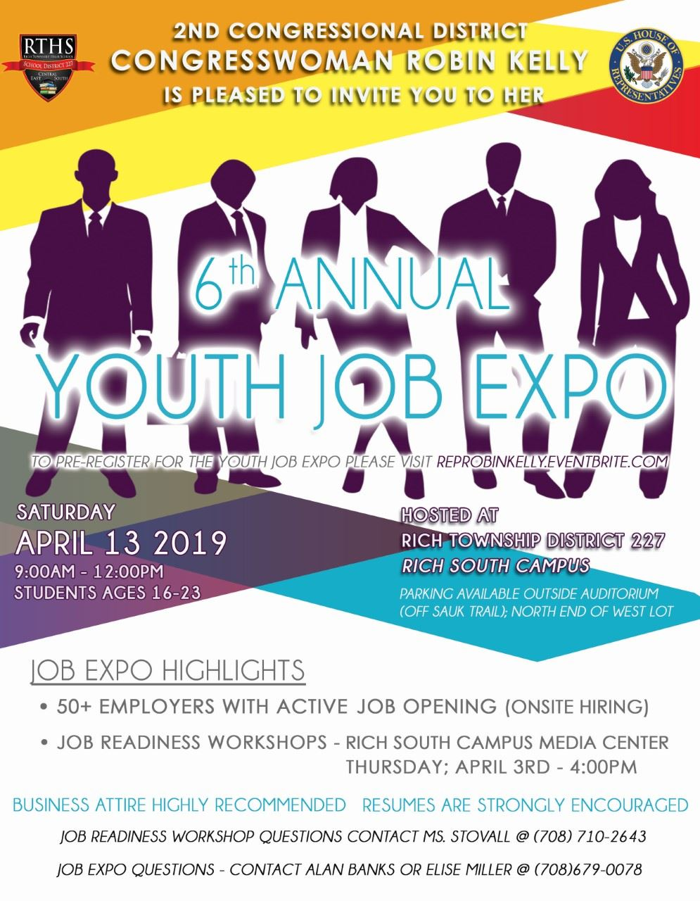 Youth Job Expo Flyer 2019